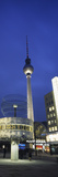 Weltzeituhr and Berlin Television Tower at Alexanderplatz, Berlin, Germany Photographic Print