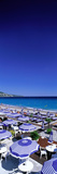 Beach Scene on French Riviera (Nice) France Photographic Print