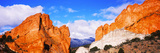 Rock Formations, Garden of the Gods, Colorado Springs, Colorado, USA Photographic Print
