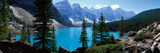 Moraine Lake Banff National Park Alberta Canada Fotografisk tryk