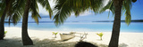 Outrigger Boat on the Beach, Aitutaki, Cook Islands Photographic Print