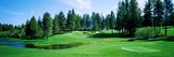 Golf Course, Edgewood Tahoe Golf Course, Stateline, Douglas County, Nevada, USA Photographic Print