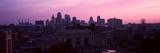 Union Station at Sunset with City Skyline in Background, Kansas City, Missouri, USA 2012 Photographic Print