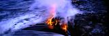 Lava Flowing from a Volcano, Kilauea, Hawaii Volcanoes National Park, Big Island, Hawaii, USA Photographic Print
