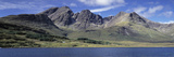 Hills, Cuillins, Loch Slapin, Isle of Skye, Scotland Photographic Print