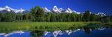 Teton Range Grand Teton National Park Wy USA Fotografisk trykk