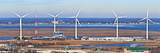 Wind Turbines in a Wind Farm, Atlantic City, New Jersey, USA Photographic Print