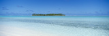 Island in the Ocean, Maina, Aitutaki, Cook Islands Photographic Print