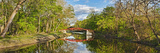 Bridge across a Canal, Delaware Canal, Washington Crossing State Park, Pennsylvania, USA Photographic Print