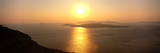 Santorini from Athinios, Greece Photographic Print