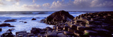 Rock Formations on the Coast, Giants Causeway, County Antrim, Northern Ireland Photographic Print