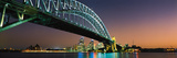 Skyline Harbour Bridge Sydney Australia Photographic Print