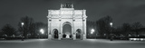 Triumphal Arch in a City, Arc De Triomphe, Place De La Concorde, Paris, Ile-De-France, France Photographic Print