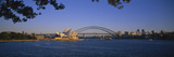 Bridge over Water, Sydney Opera House, Sydney, New South Wales, Australia Photographic Print