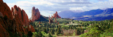 Rock Formations on a Landscape, Garden of the Gods, Colorado Springs, Colorado, USA Fotografie-Druck