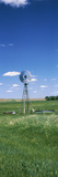 Windmill in a Field, Nebraska, USA Fotografie-Druck