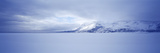 Frozen Jackson Lake in Winter, Grand Teton National Park, Wyoming, USA Photographic Print