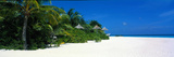 Beach Scene the Maldives Photographic Print
