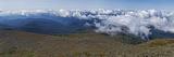 Clouds over Mountains, Mt Washington, New Hampshire, USA Photographic Print