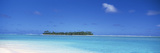 Island in the Ocean, Maina, Cook Islands Photographic Print