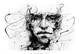 Lines Hold the Memories 高品質プリント : Agnes Cecile