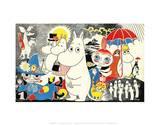 Tove Jansson - The Moomins Comic Cover 1 Umění