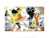 The Moomins Comic Cover 5 Posters by Tove Jansson