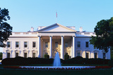 White House Washington Dc Photographic Print