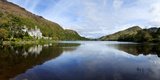 Abbey on the Banks of Fannon Pool, Kylemore Abbey, Connemara, County Galway, Republic of Ireland Photographic Print