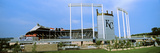 Baseball Stadium in a City, Kauffman Stadium, Kansas City, Missouri, USA Photographic Print