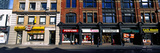 Stores at the Roadside in a City, Toronto, Ontario, Canada Photographic Print