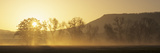 Fog at Sunrise, Albtrauf, Kirchheim, Swabian Alb, Baden-Wurttemberg, Germany Photographic Print