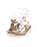 Tove Jansson - Moomintroll and Sniff on a Treasure Hunt Obrazy
