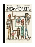 The New Yorker Cover - March 17, 2014 Regular Giclee Print by Ricardo Liniers