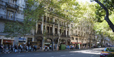 Buildings Along Avenida De Mayo, Buenos Aires, Argentina Photographic Print