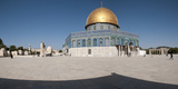 Town Square, Dome of the Rock, Temple Mount, Jerusalem, Israel Photographic Print