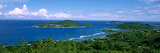 View over Anse L'Islette and Therese Island, Seychelles Photographic Print