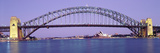 Bridge across a Sea, Sydney Harbor Bridge, Sydney, New South Wales, Australia Photographic Print