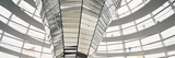 Mirrored Cone at the Center of the Dome, Reichstag Dome, the Reichstag, Berlin, Germany Photographic Print