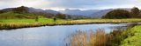 Elterwater and the Langdale Pikes, English Lake District, Cumbria, England Photographic Print