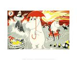 The Moomins Comic Cover 7 Posters by Tove Jansson