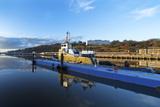 Tugboat Moored at the River Suir, Waterford City, County Waterford, Republic of Ireland Photographic Print
