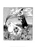 Vintage Moomin Illustration Poster par Tove Jansson