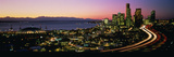 Sunset Skyline Seattle Wa USA Photographic Print