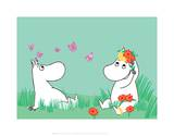 Moominmama and Snorkmaiden Prints by Tove Jansson
