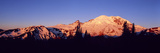 Sunset Mount Rainier Seattle Wa Photographic Print