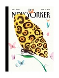The New Yorker Cover - March 24, 2014 Premium Giclee Print by Ana Juan