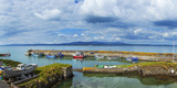 Fishing Boats at a Harbor, Helvick Harbour, an Rinn, County Waterford, Republic of Ireland Photographic Print