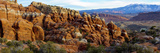 Sandstone Formations, Fiery Furnace, Arches National Park, Utah, USA Photographic Print
