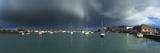 Stormy Weather over the Harbor, Dungarvan Harbour, Dungarvan, County Waterford, Republic of Ireland Photographic Print